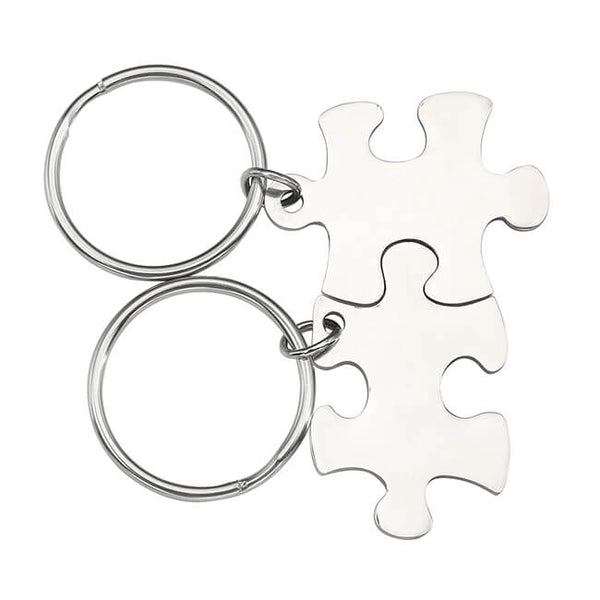 JOVIVI Stainless Steel Couples Keychains Set Keyring Engraved Name Message Best Friend Friendship Gift, jnf001701