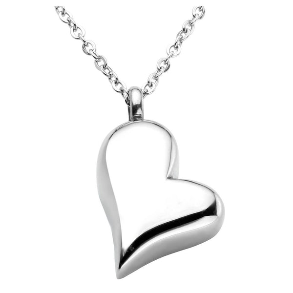 jovivi heart shape urn ashes necklace for memorial jewelry