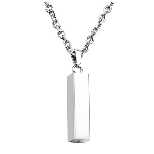 Jovivi cremation jewelry for ashes urns necklace bar pendant