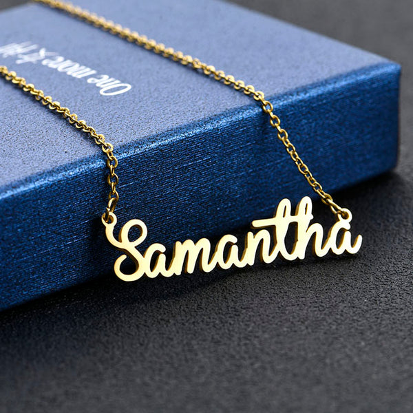 S - Personalized Name Necklace Charm Necklace