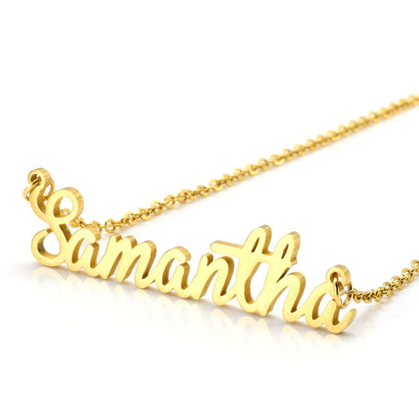 Jovivi S - Personalized Name Necklace Charm Necklace