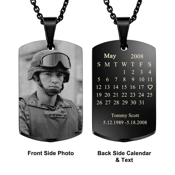 jovivi personalized photo calendar urn pendant necklace for ashes, jng058602