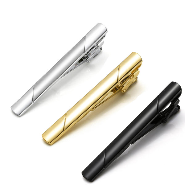 jovivi 3pcs mens bussiness classic tie bar clip gift for father's day