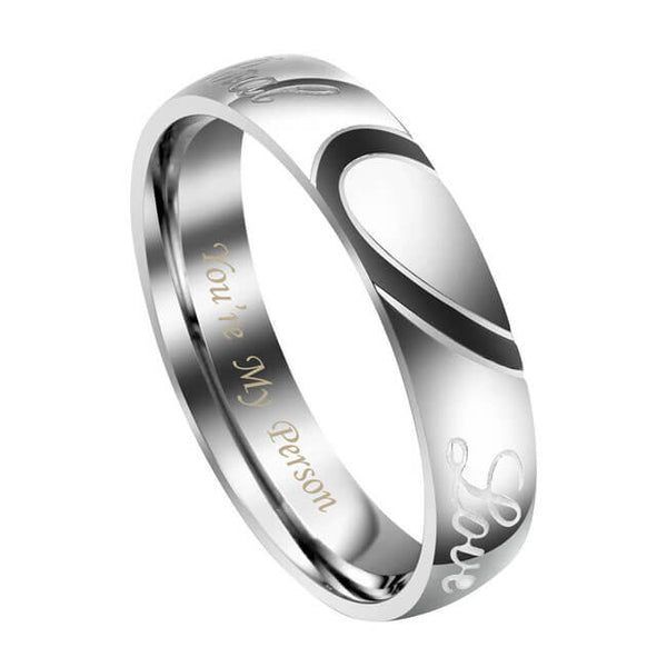 jovivi personalized couples rings for men vanlenties day gift