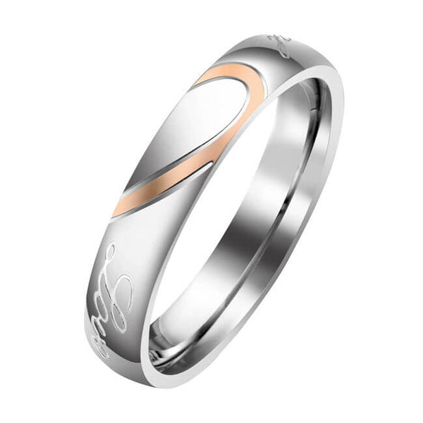 jovivi personalized couples rings anniversay date
