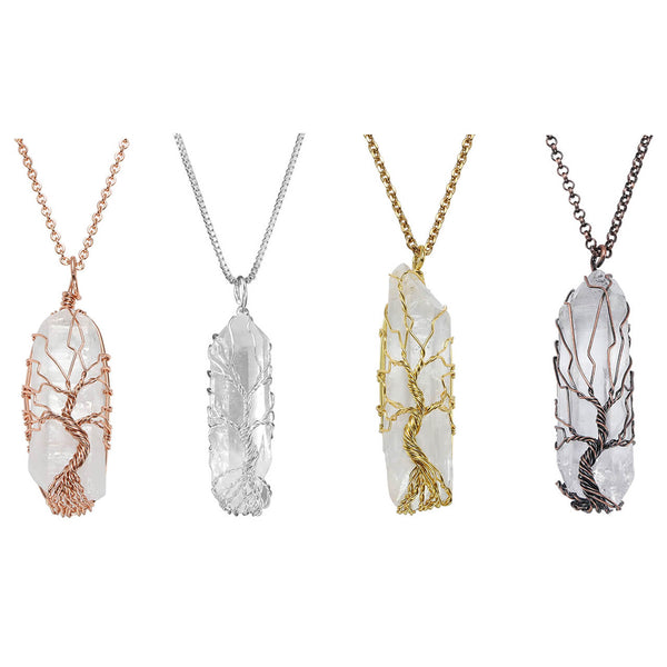 jovivi chakras gemstones tree of life healing crystal jewelry for women
