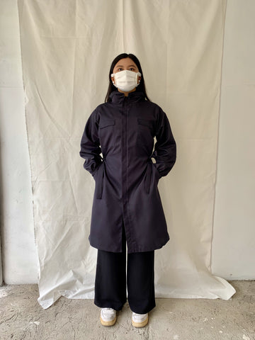 Dark Blue Protective Coat
