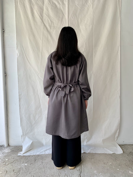 Protective Coat in Grey