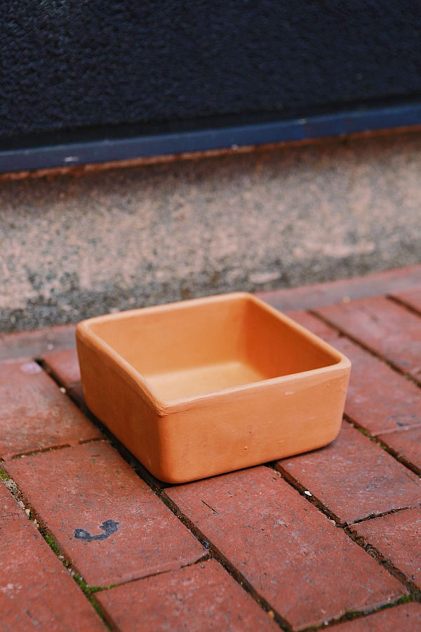 Clay Short Square
