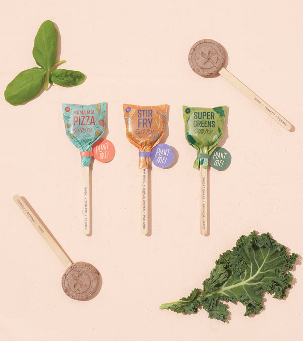 Culinary Seed Lollipops