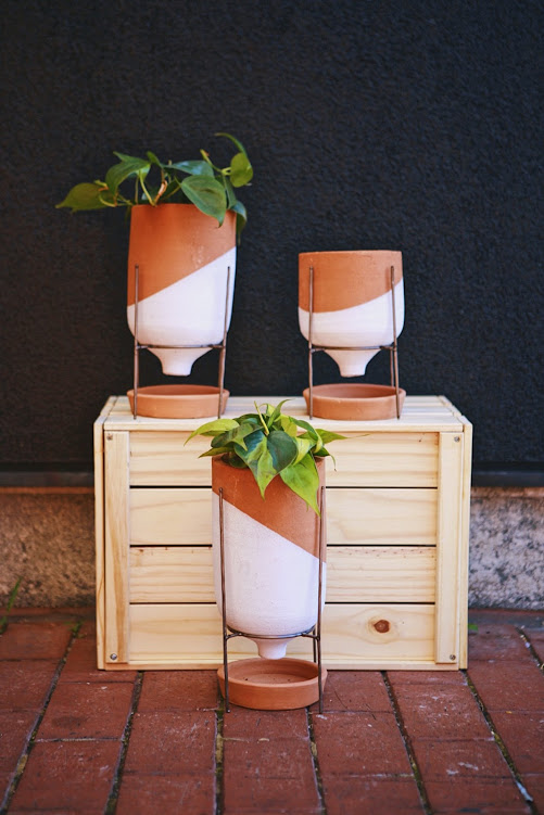 Clay Funnel Planter