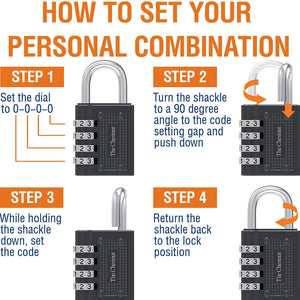 Padlock with 4 Digit Combination
