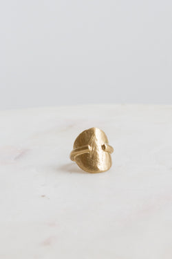 8.6.4 Brass Textured Sun Ring