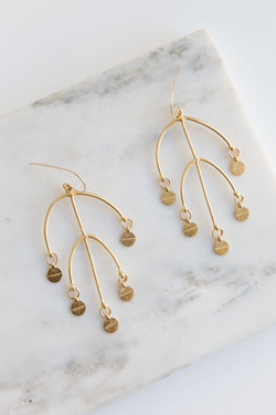 Takara Golden Sun Earrings