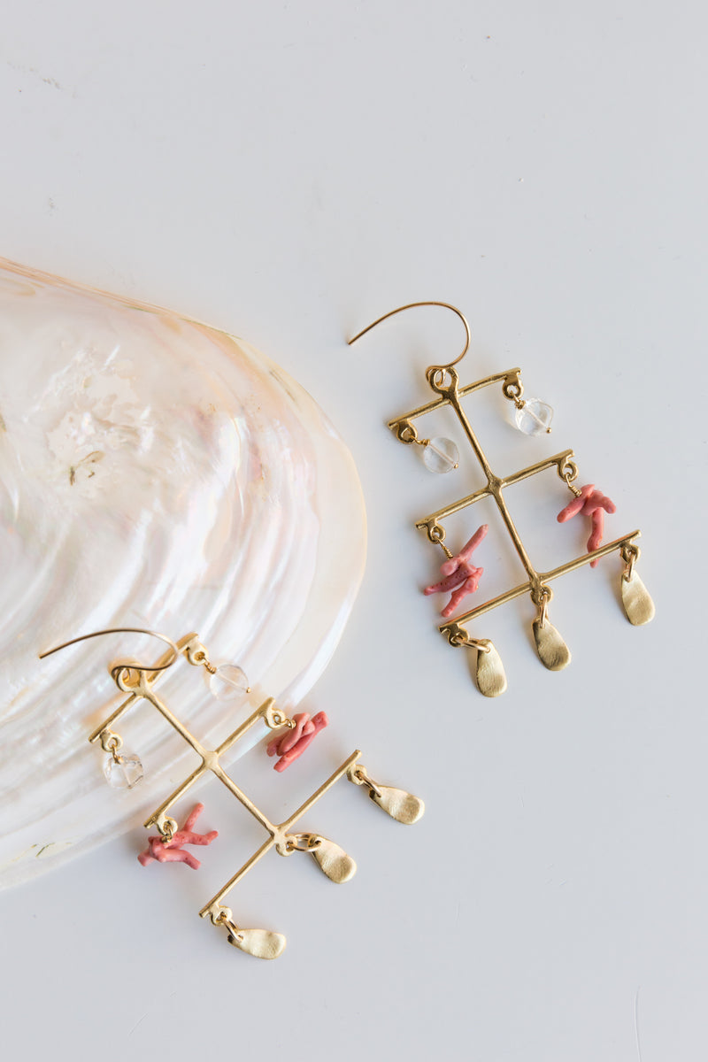 Takara Rising Sea Earrings