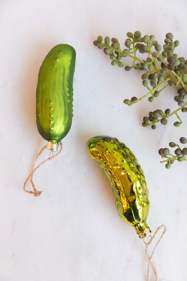 Cody Foster & Co Pickle Ornament