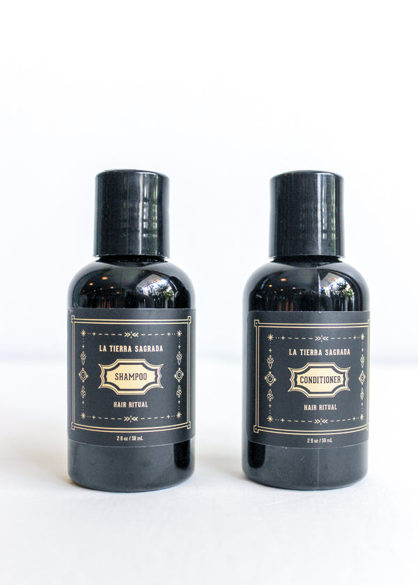 La Tierra Sagrada Hair Ritual Shampoo + Conditioner Set
