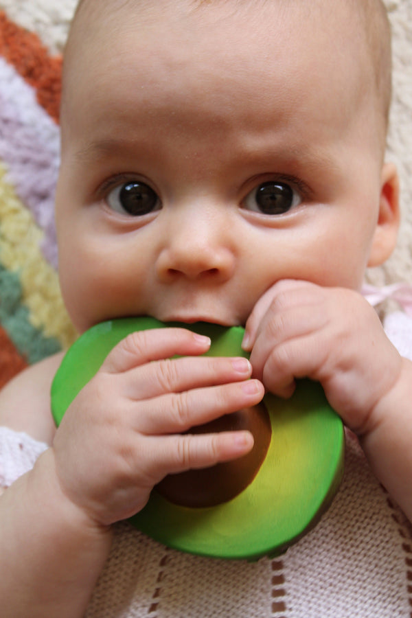 Oli & Carol Arnold Avocado Teether