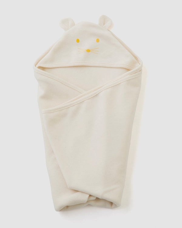 Hooded Bear Swaddle