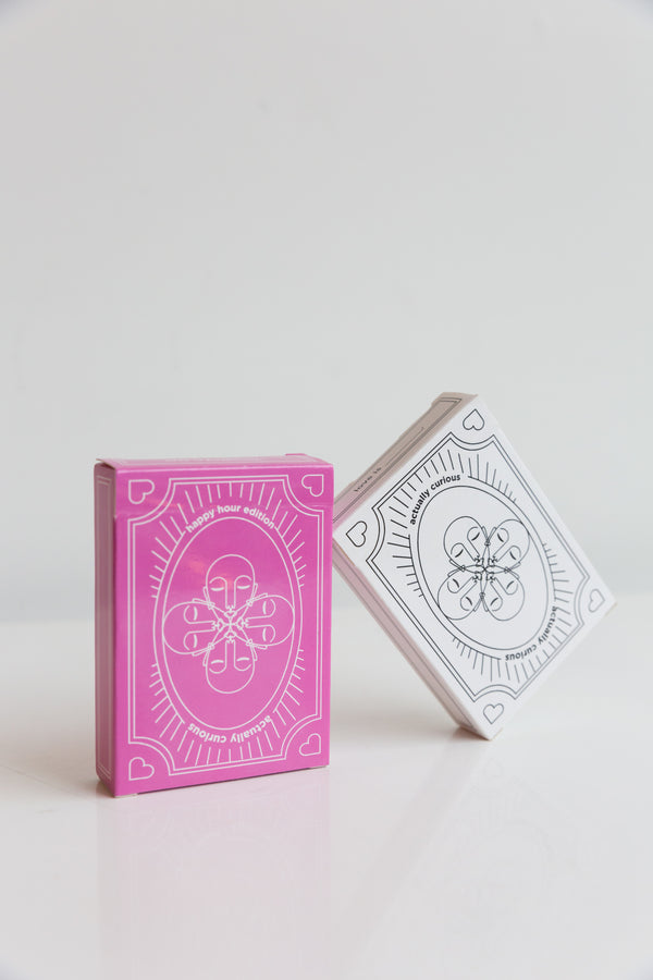 Actually Curious Playing Cards