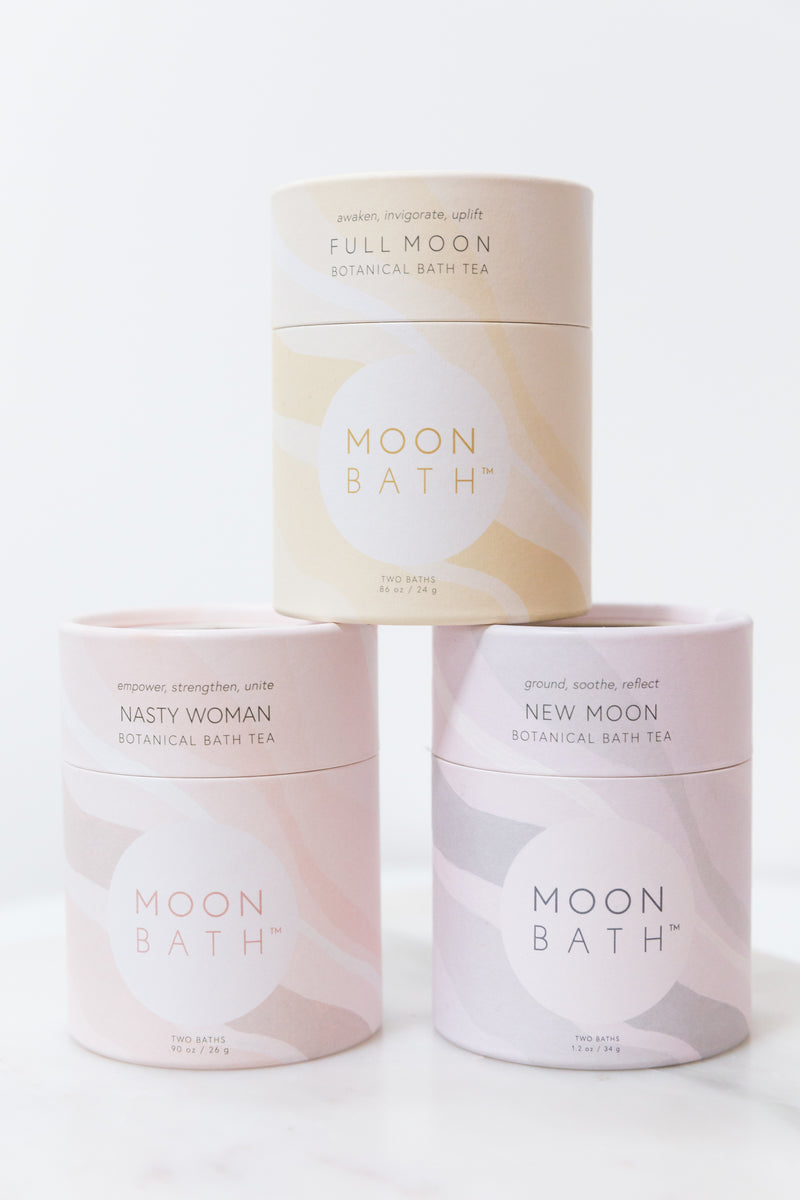 Moon Bath Botanical BathTea
