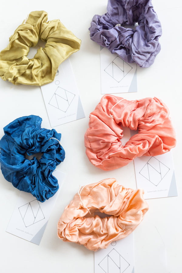 Nade Silk Naturally Dyed Scrunchie