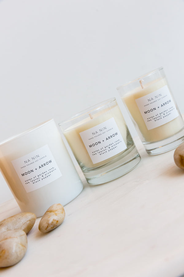 Na Nin Moon + Arrow Candles
