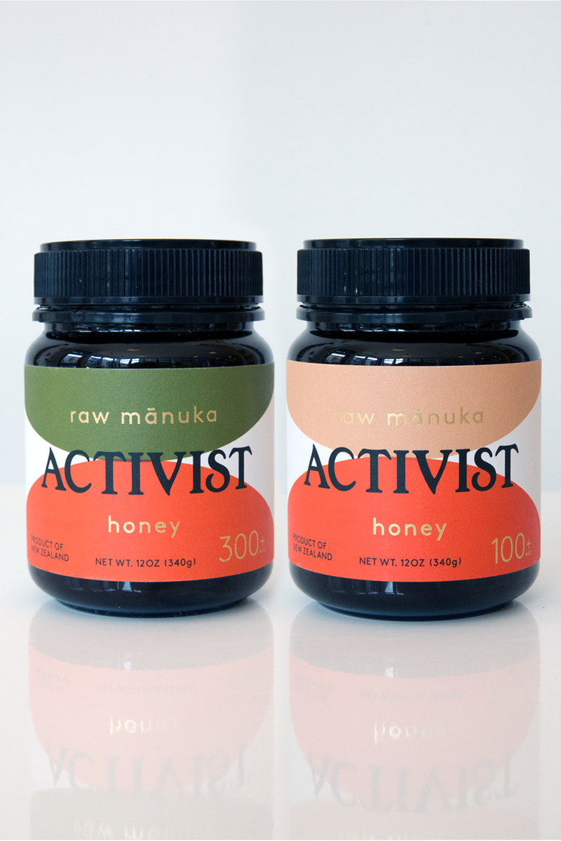 Activist Raw Mānuka Honey