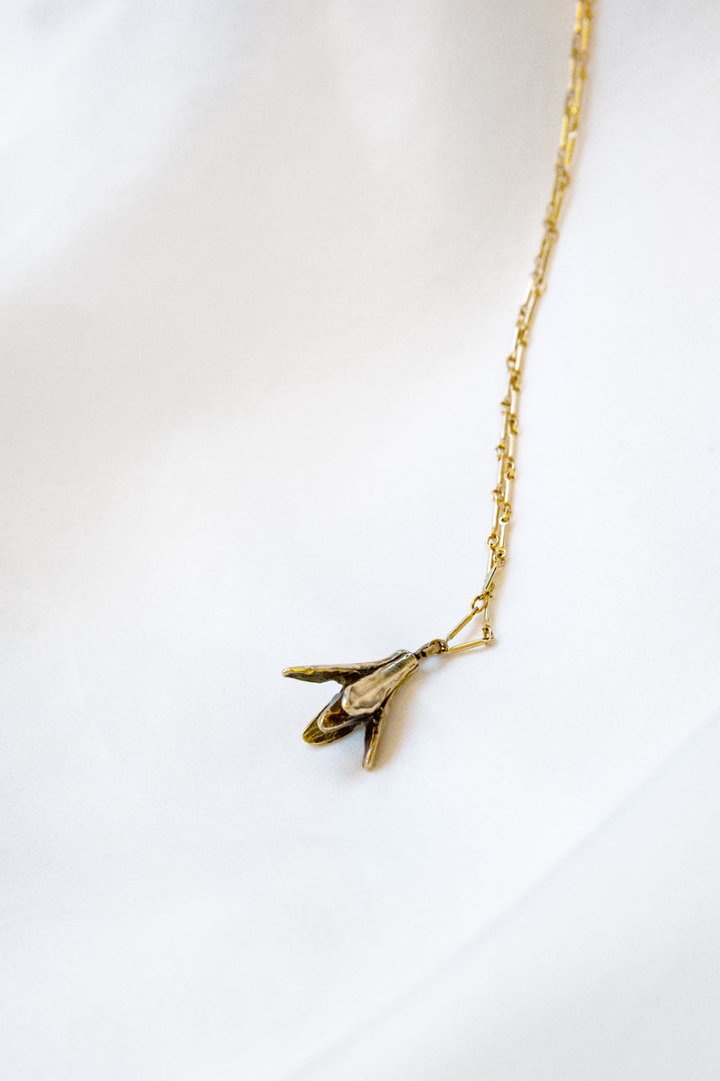 M+A Seed Pod Necklace