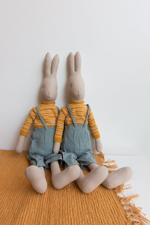 Maileg Rabbit in Overalls