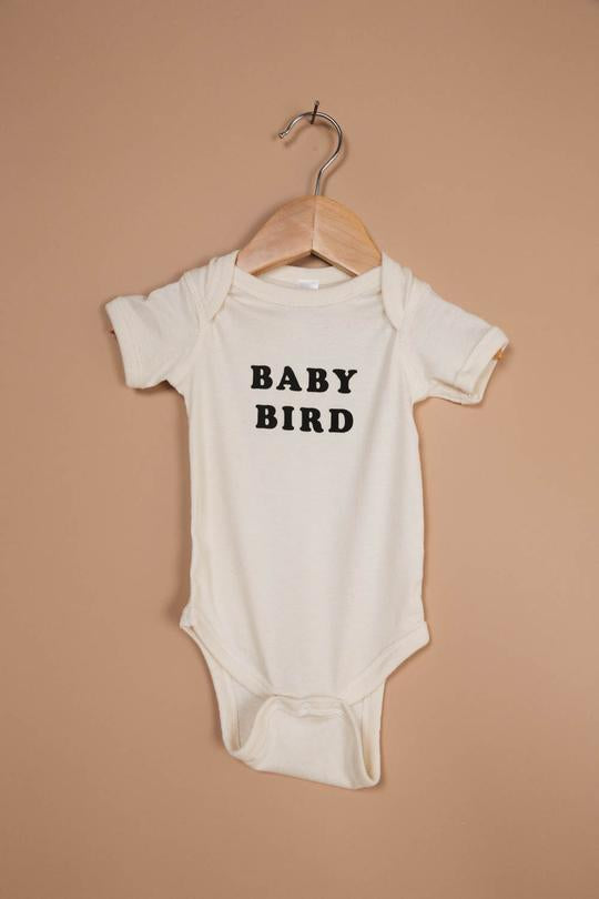 The Bee & The Fox Baby Bird Onesies