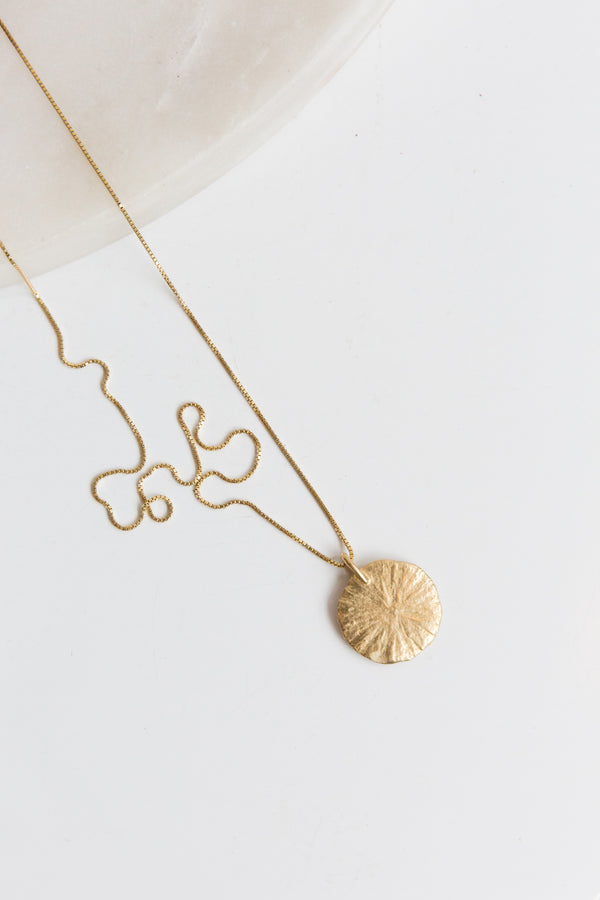 Amanda Hunt Circle Necklace