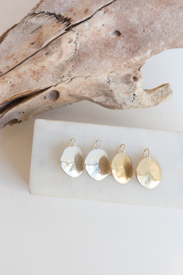 Amanda Hunt Terra Hook Earrings
