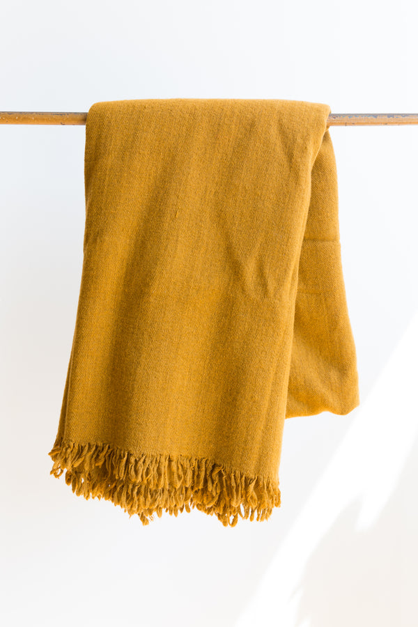 Auntie Oti Wool Throw
