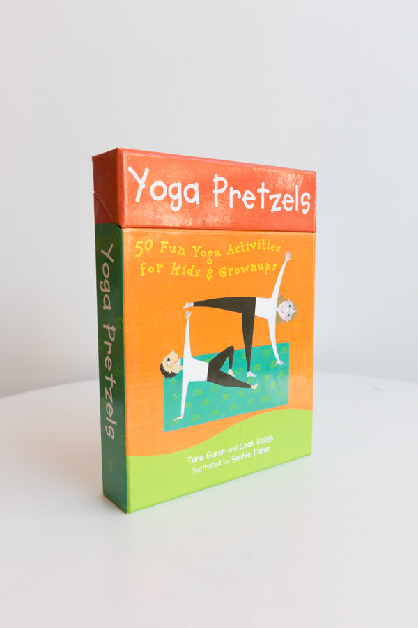 Yoga Pretzels Flash Cards