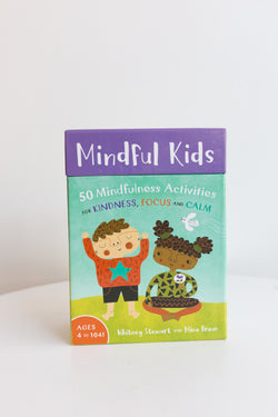 Barefoot Books Mindful Kids Flash Cards Game