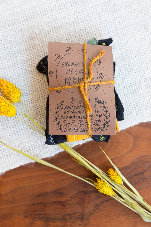 Brass Arrow Herb Sachet Packs