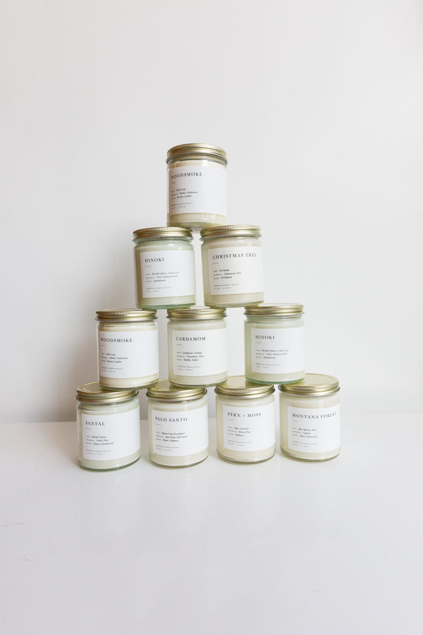 Brooklyn Candle Studio Minimalist Jar Candles