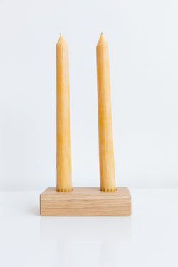 Ethan Vayo White Oak Candle Stick Holder