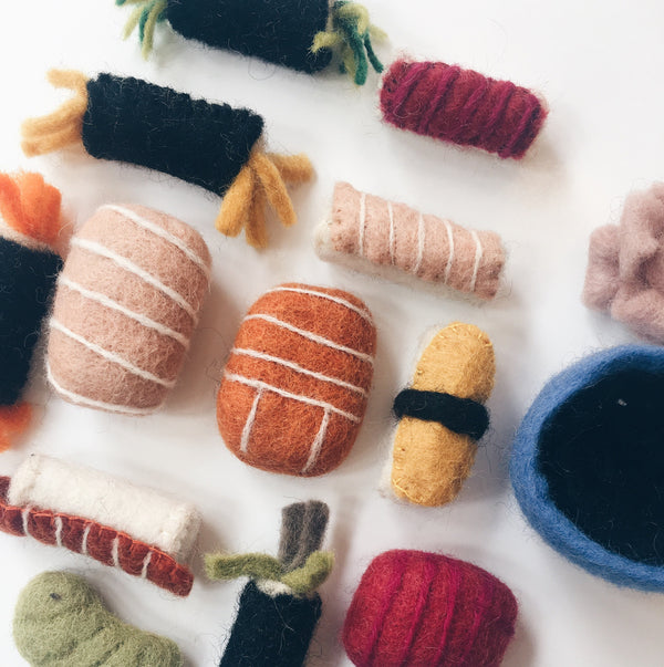 Felted Bento Box