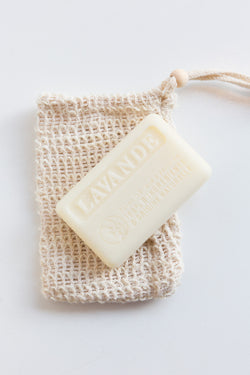 Cordial Organics French Soap and Exfoliating Bag