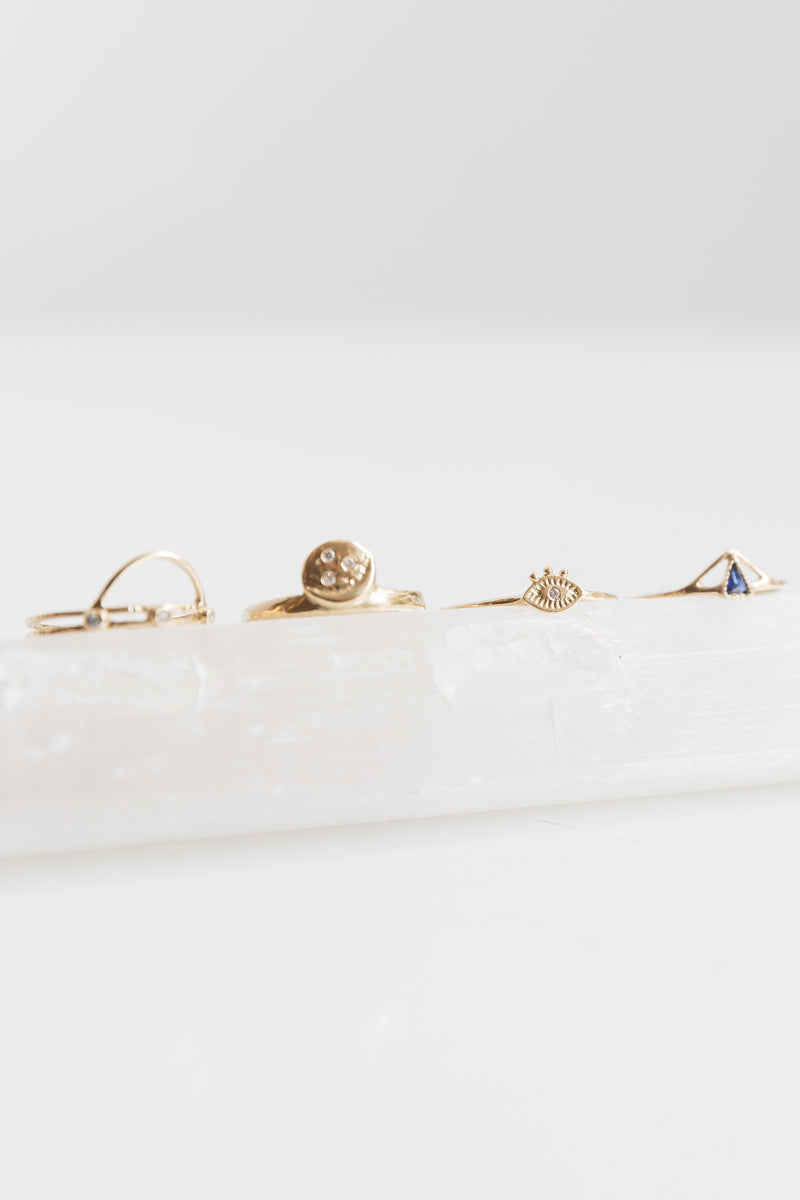 Lio + Linn Tiny Eye Ring