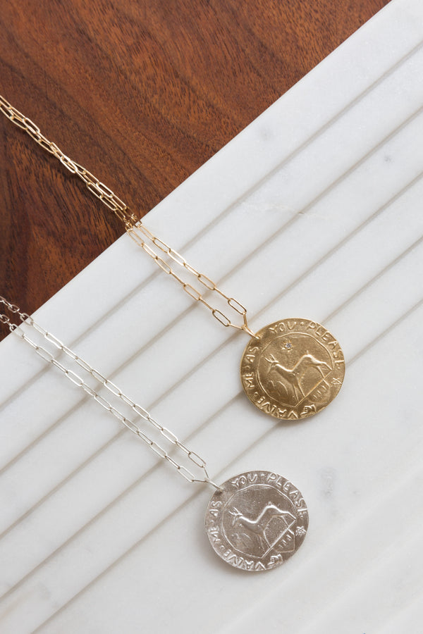 Page Sargisson Value Me Pendant Necklace