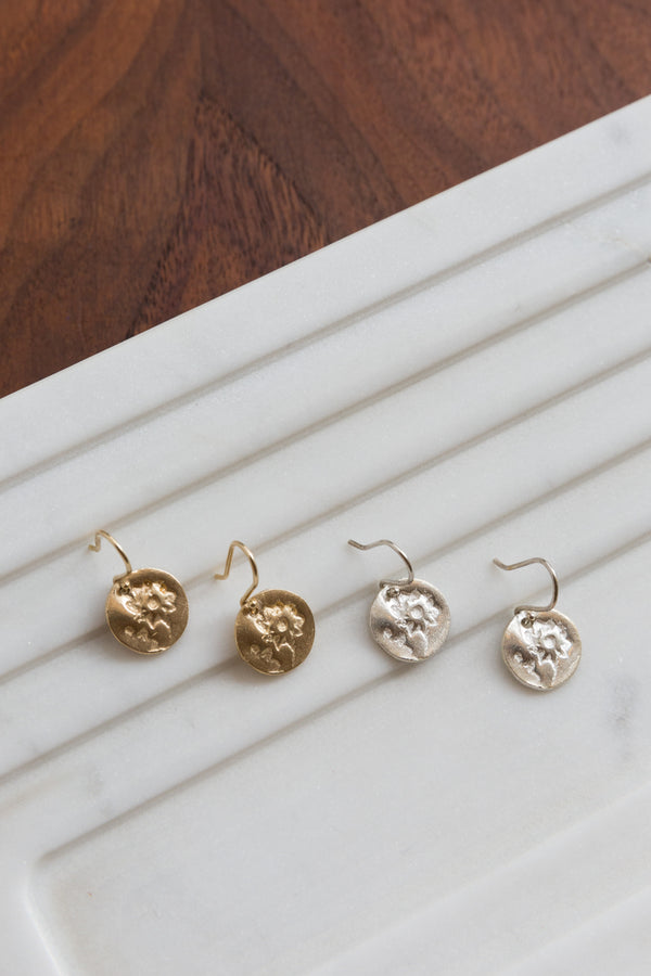 Page Sargisson Dandelion Archer Earrings
