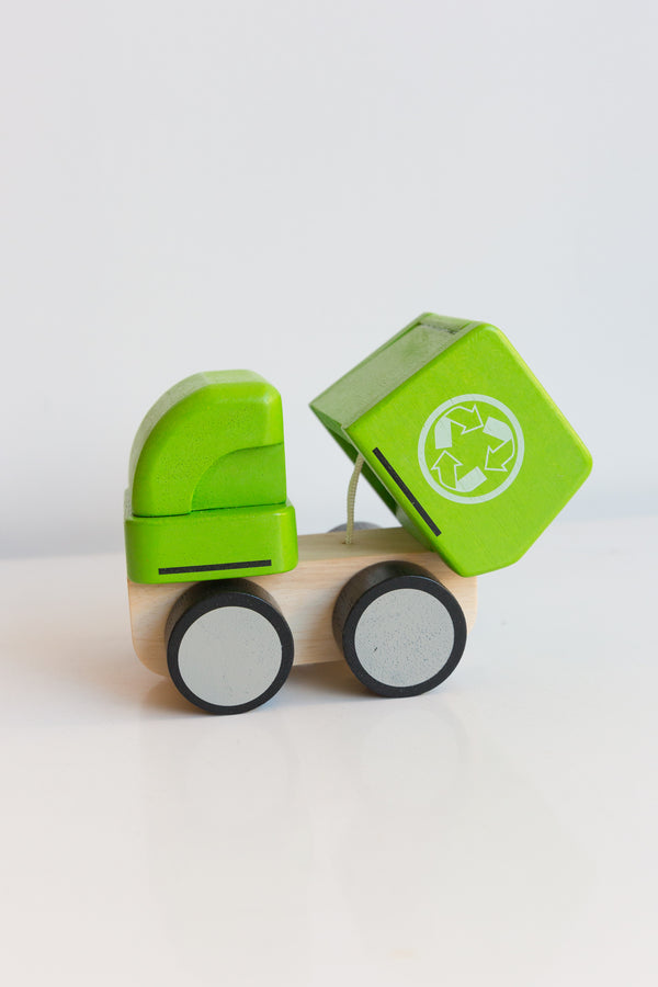 Plan Toys Mini Garbage Truck