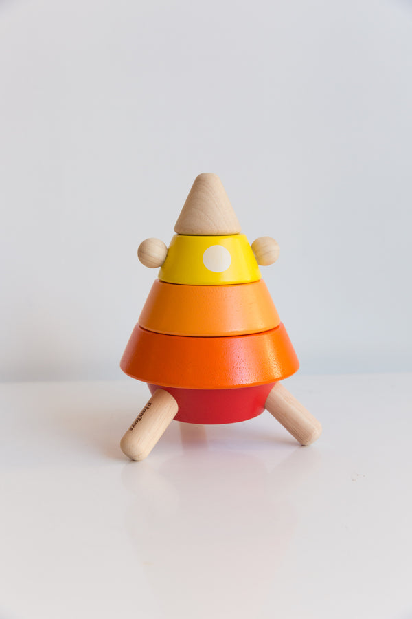 Plan Toys Cone Sorting Rocket