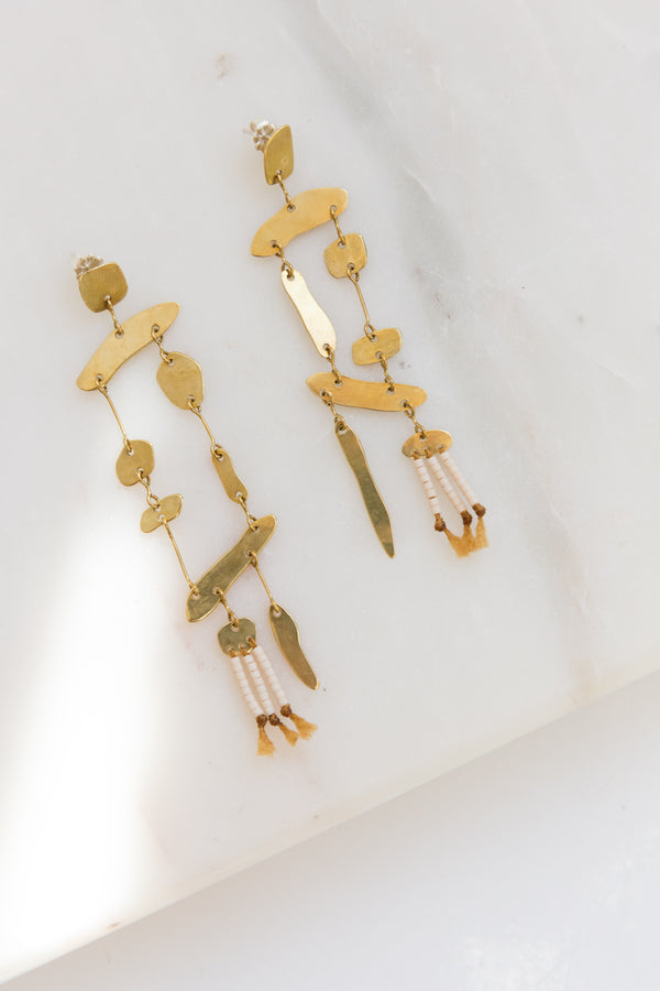 Satomi Drift Mobile Earrings