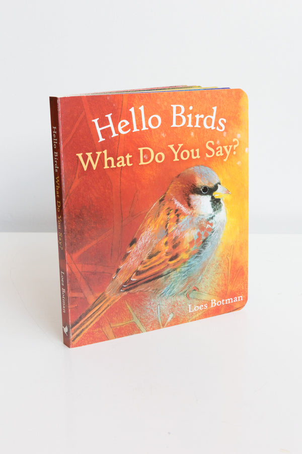 Hello Birds What Do You Say? Board Book