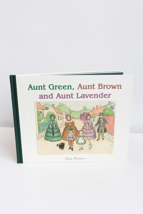 Steiner Books Aunt Green, Aunt Brown, & Aunt Lavender