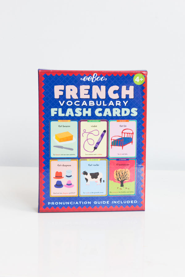 Barefoot Books Language Flash Cards Spanish // French